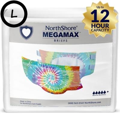 NorthShore MEGAMAX Tie-Dye L