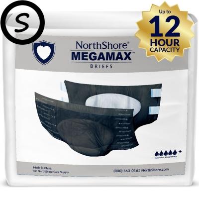 NorthShore MEGAMAX Zwart S