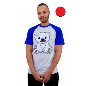 Polar T-shirt Rood