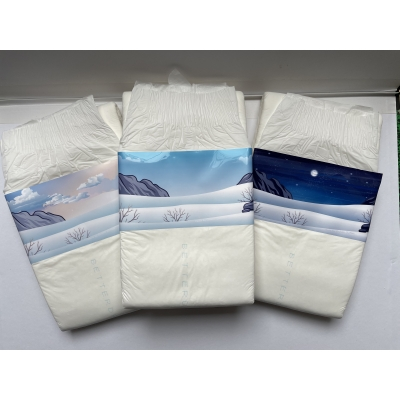 Noordpool Luiersticker ( 3 stickers )