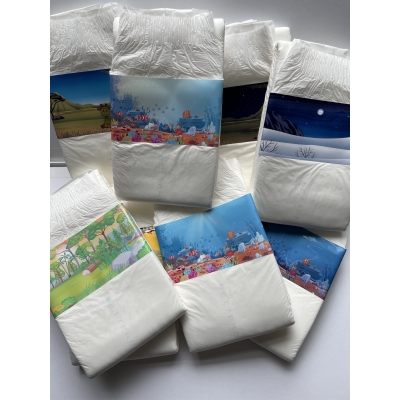 Mega Luierstickerpack ( 12 stickers )